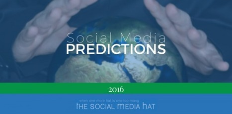 Social Media Predictions for 2016 | The Content Marketing Hat | Scoop.it