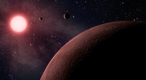 Découverte d'un mini-système-solaire où naviguent les 3 plus petites exoplanètes.   Beyond the cave wall   Scoop.it