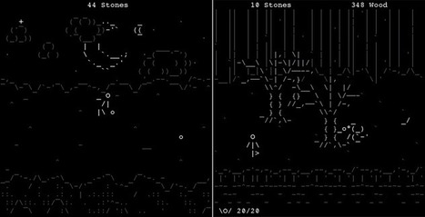 Stone Story - ASCII Adventure/RPG Game | ASCII Art | Scoop.it