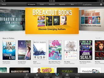 Apple's iBookstore Debuts Breakout Books Category | eBooks and digital publishing for business | Scoop.it