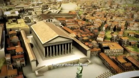 Rome Reborn: Take a Virtual Tour Through Ancient Rome, 320 C.E. | Studio Art and Art History | Scoop.it