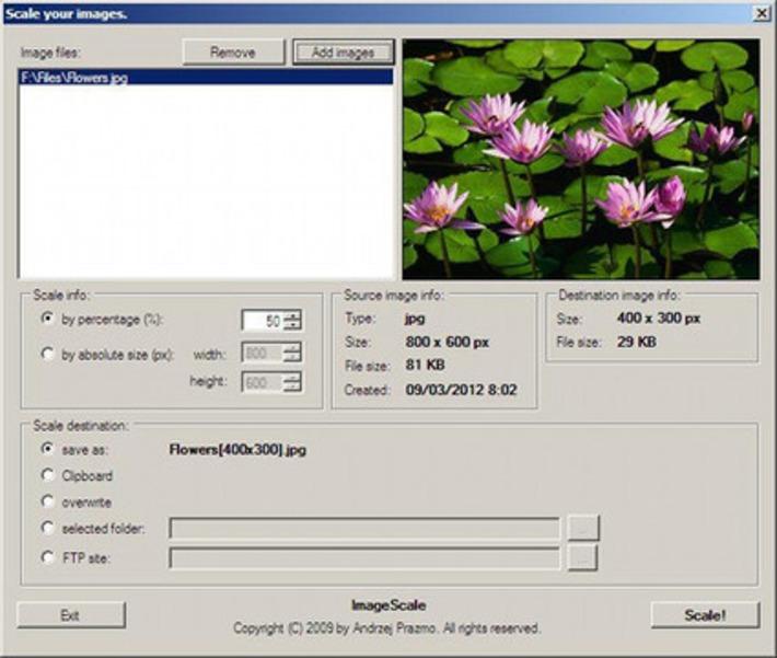 Image Scale : logiciel gratuit pour redimensionner photos et images | TIC et TICE mais... en français | Scoop.it