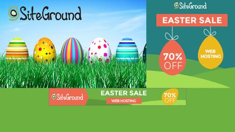 Siteground Easter Sale 2015 upto 70% OFF Grab Now! | Web Designer Pad | Scoop.it