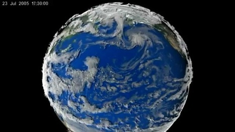 Video - Earth weather over 7 days in 2005   Place Based Geography Videos - Current Events   Scoop.it