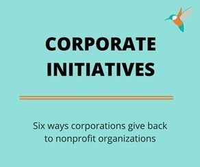 Do you know the six types of corporate social initiatives? | Corporate Philanthropy | Scoop.it