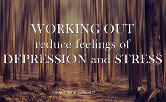 How to Deal With Depression and Stress With Exercise ~ Best4Fit | Health & Fitness | Scoop.it