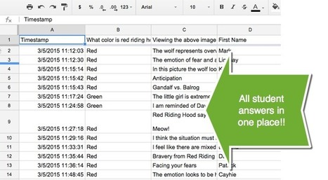 Using Google Forms Instead of Worksheets | BHS Ed Tech | Scoop.it