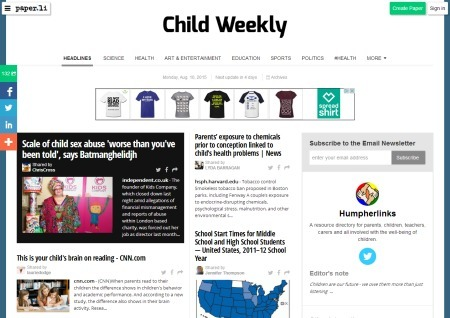 Child Weekly   Children First   Scoop.it