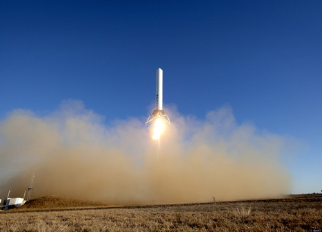 Reusable Hovering Space Rocket Completes Breakthrough Test | leapmind | Scoop.it