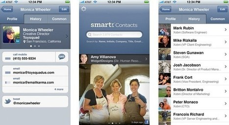 Yahoo acquires Xobni, aims for smarter contacts in its services | Social Media and its influence | Scoop.it