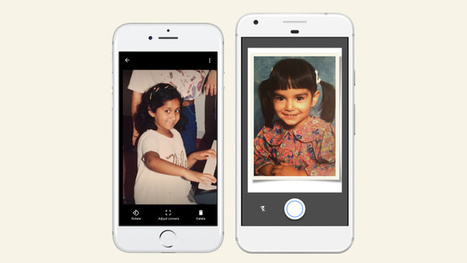 Google's new app PhotoScan turns prints into digital photos | Recursos educatius a tenir en compte | Scoop.it