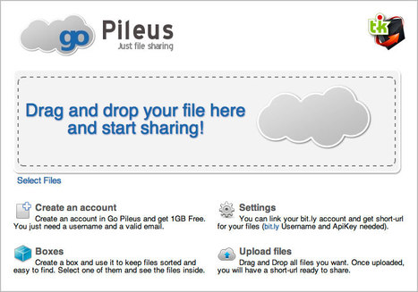 GoPileus : le partage temporaire de fichiers | Ce qui m'intéresse | Scoop.it