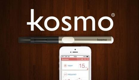 Kosmo : encore une e-cigarette connectée made in France - Le Journal du Geek | e-cigarette lifestyle, mods, émotions | Scoop.it