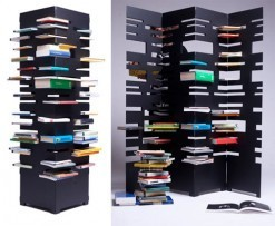 An Interesting Way to Store Books: Bookshelf Tower and Divider by ... | NYL - News YOU Like | Scoop.it