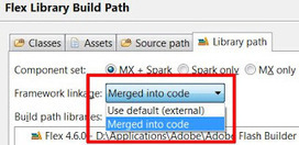 Flex on Mobile: Framework linkage configuration for ANE library | Everything about Flash | Scoop.it
