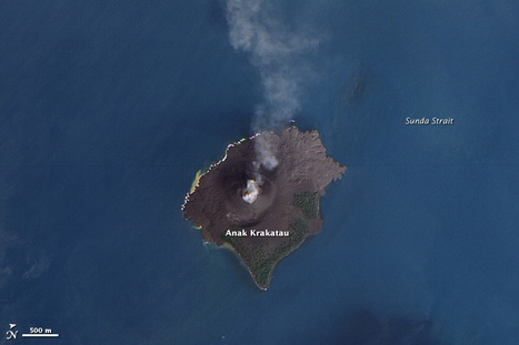 Volcanic Acitivity at Krakatau | Geospatial | Scoop.it
