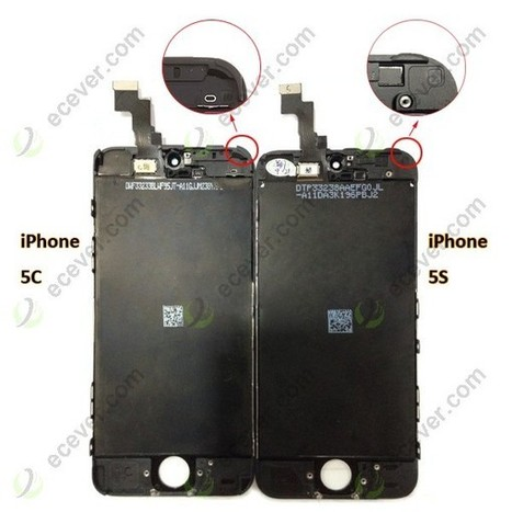 OEM iPhone 5S LCD Screen Digitizer Touch Assembly Black | iPhone 5 5S LCD Screen iPad Air digitizer touch screen | Scoop.it