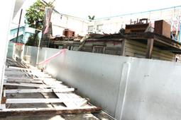 Section of demolished house falls into school compound : Kaieteur ...   verzorgingsstaat 3   Scoop.it