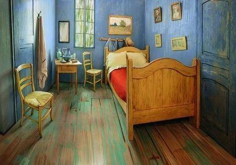L'Art Institute of Chicago loue une réplique de la chambre de Van Gogh sur Airbnb pour promouvoir une exposition de l'artiste | Clic France | Scoop.it