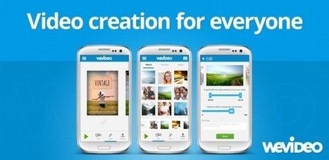 WeVideo, el editor de vídeos en la web y su nueva app Android | El Content Curator Semanal | Scoop.it