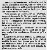 Quand Savigné vous sera conté: L'affaire Blondel & Porée (1877) | GenealoNet | Scoop.it