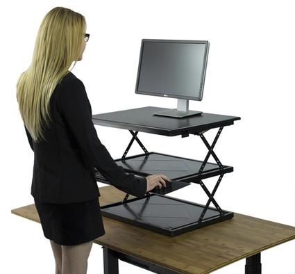 CHANGEdesk - Adjustable Height Standing Desk Conversion   Adjustable Ergonomic Stand Up Desk   Scoop.it