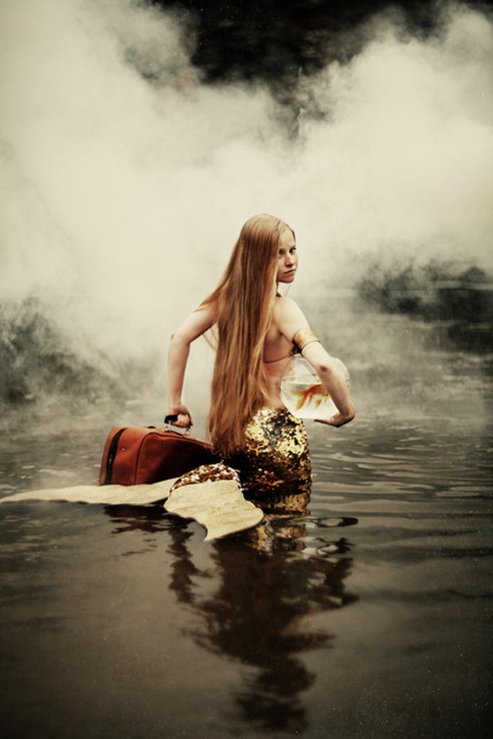 A Modern Mermaid Tale   For Art's Sake-1   Scoop.it