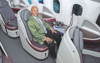 A380s to biz jets, Frenchman shakes up plane interior design - Daily Star Online | DREAMBOW | Scoop.it