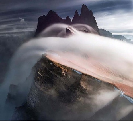 Photographer Climbs High Up in the Mountains to Capture Dynamic Landscapes | ExploreTraveler.com | Scoop.it