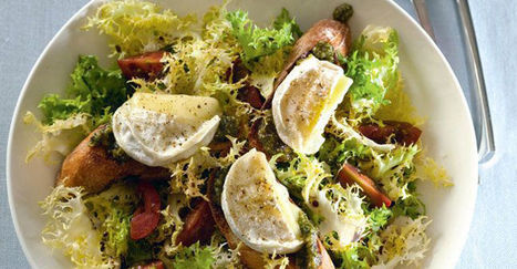 Salade de chèvre chaud | The Voice of Cheese | Scoop.it