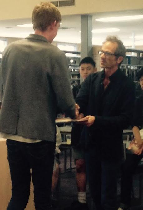 Laureate Launch 2015 - guest author Chris Womersley | What is a teacher librarian? | Scoop.it
