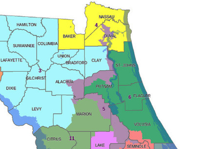 Justice Dept. approves Florida's district maps | APHuG Political | Scoop.it