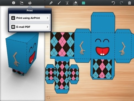 iPad art gets real with Foldify app | iPads in the Elementary Library | Scoop.it