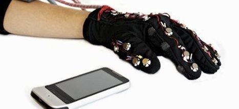 Mobile Lorm Glove : Un moyen de communication pour les personnes sourdes et aveugles | Semageek | Amitiés anthropo-robotiques | Scoop.it