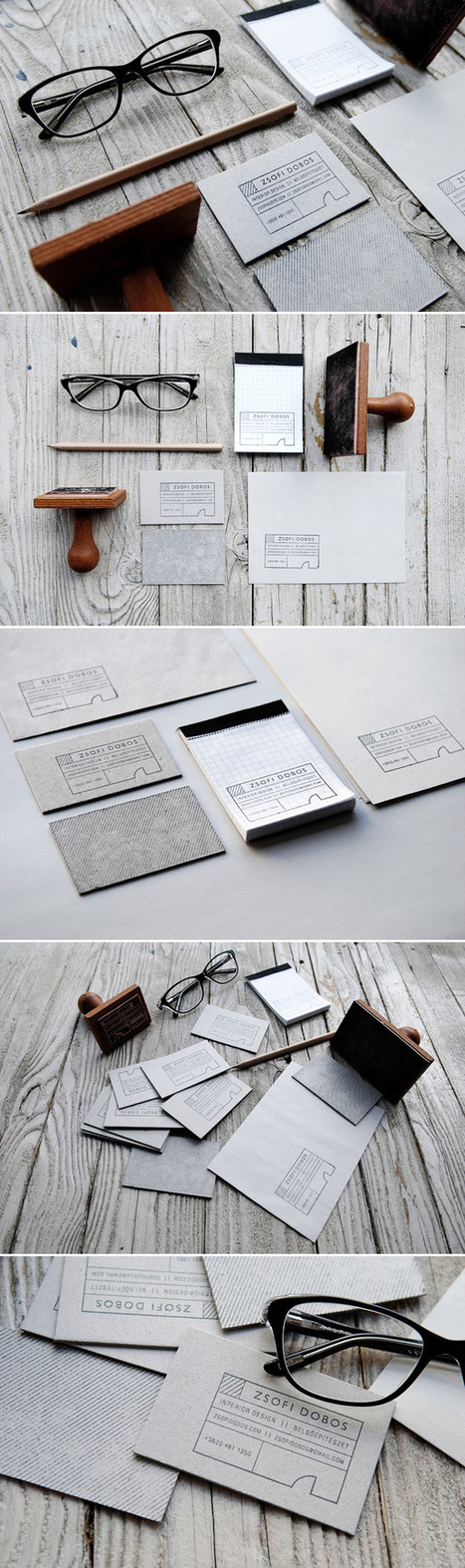 20 Inspiring Stationery Designs | Collecting About Design | Scoop.it