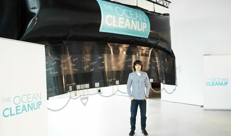Meet the 22-year-old with a big idea for cleaning up the Great Pacific Garbage Patch | Coastal Restoration | Scoop.it
