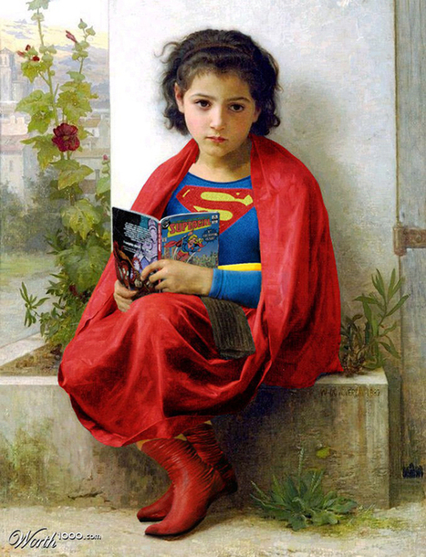 Awesome Mash-Up Art Where Superheroes Are Inserted Into Classic Paintings | Shareables | Scoop.it