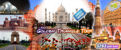 Explore Golden Triangle Tour of India | Friends Travel Services | Scoop.it