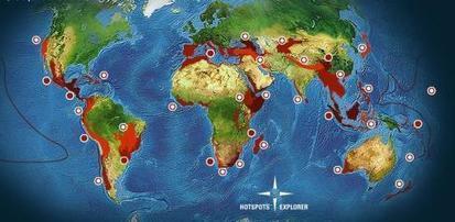 Réchauffement : vers l'extinction massive d'un quart des espèces ?   Exposés SVT 3eme   Scoop.it