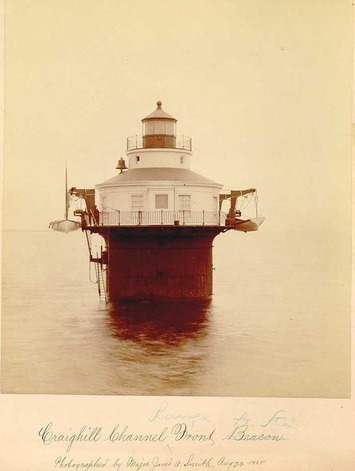Original 1885 Chesapeake Lighthouse Photographs Mounted Albumen Prints | Cultural History | Scoop.it