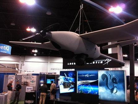 Laser Powers Lockheed Martin's Stalker UAS For 48 Hours | sUAS News | Robotique de service | Scoop.it