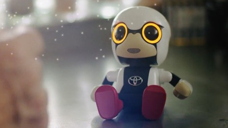 Toyota's Kirobo Mini companion robot goes on sale for $400 next year | Une nouvelle civilisation de Robots | Scoop.it