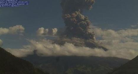 Incremento de actividad del volcán Tungurahua | Agua | Scoop.it