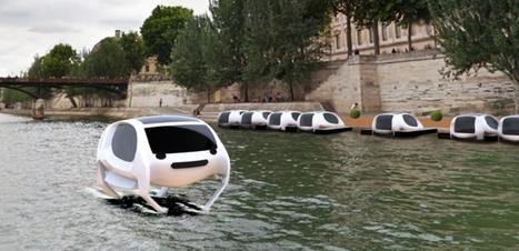 Sea Bubble : ces voitures qui voleront bientôt au-dessus de la Seine | commerce et conso à suivre | Scoop.it