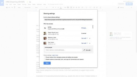 Getting to Know...Google Docs - NTEN | Using Google Drive in the classroom | Scoop.it
