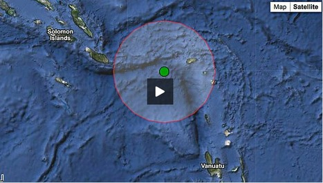 Quake hits Solomons, four die | geography teaching p | Scoop.it