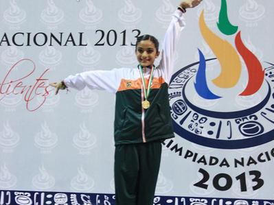 Edna García reina de la gimnasia nacional – Grupo Milenio