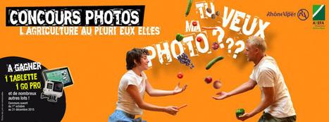 """Concours photos """"L'agriculture au pluri-eux-elles""""   ANEFA   metiers agriculture   Scoop.it"""