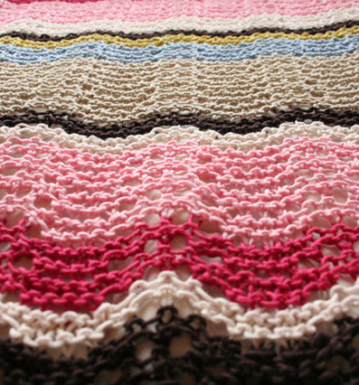 Bring-it-on baby blanket - free knitting pattern - Pickles   baby knitting   Scoop.it