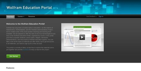 Wolfram Education Portal: Free Resources and Materials for Teachers | formation 2.0 | Scoop.it